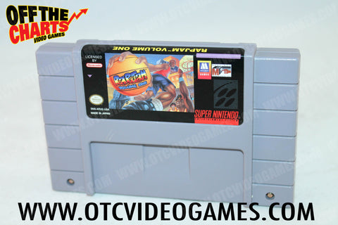 Rapjam Volume One Super Nintendo Game Off the Charts