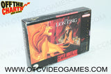 The Lion King Box Super Nintendo Box Off the Charts