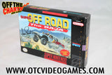 Super Off Road The Baja Box Super Nintendo Box Off the Charts
