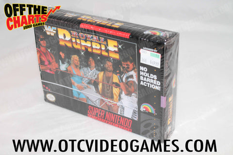 Royal Rumble Box Super Nintendo Box Off the Charts