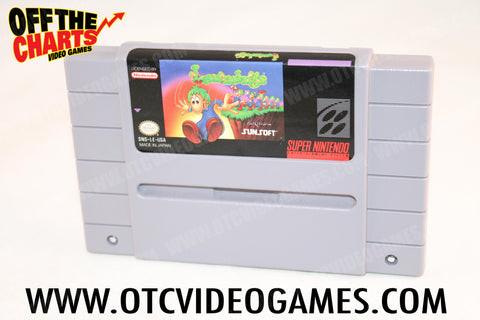 Lemmings Super Nintendo Game Off the Charts