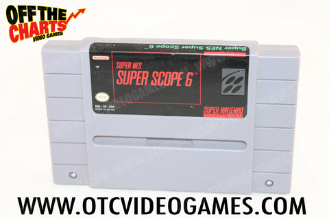 Super Scope 6 Super Nintendo Game Off the Charts