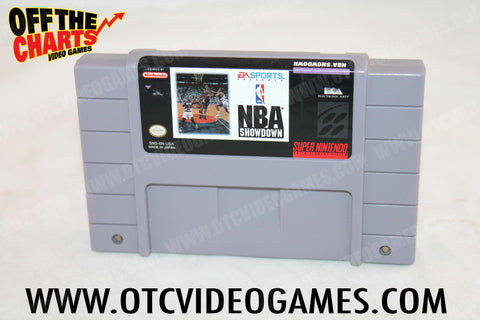 NBA Showdown - Off the Charts Video Games
