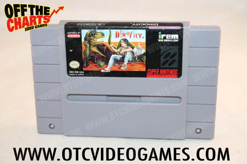 Dino City Super Nintendo Game Off the Charts