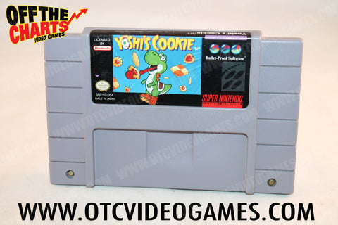 Yoshi's Cookie Super Nintendo Game Off the Charts