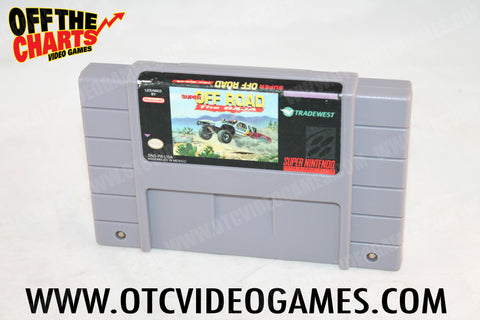Super Off Road: The Baja Super Nintendo Game Off the Charts