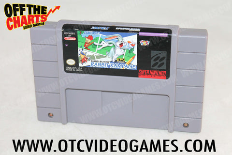 Bugs Bunny Rabbit Rampage Super Nintendo Game Off the Charts