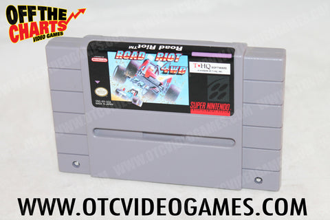 Road Riot 4WD Super Nintendo Game Off the Charts