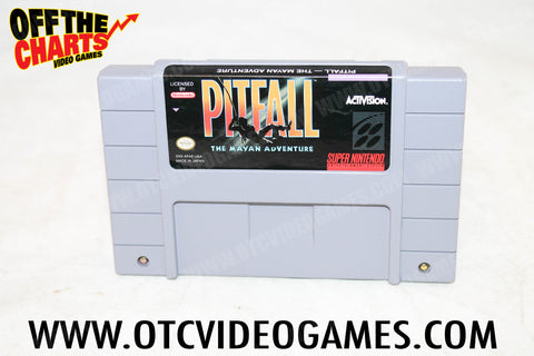 Pitfall The Mayan Adventure - Off the Charts Video Games