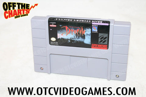Bram Stokers Dracula - Off the Charts Video Games