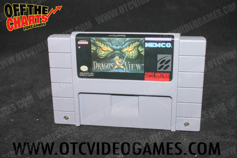 Dragon View Super Nintendo Game Off the Charts