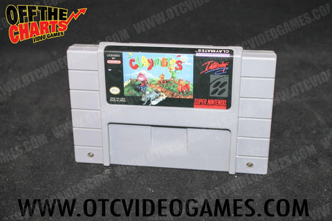 Claymates Super Nintendo Game Off the Charts