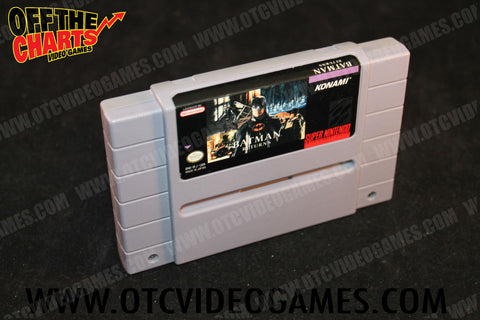Batman Returns Super Nintendo Game Off the Charts