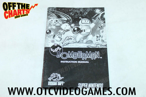 Super Bomberman Manual - Off the Charts Video Games