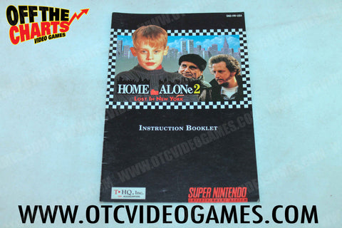 Home Alone 2: Lost in New York Manual - Off the Charts Video Games