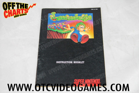 Lemmings Manual - Off the Charts Video Games