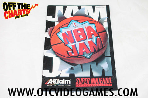 NBA Jam Manual - Off the Charts Video Games