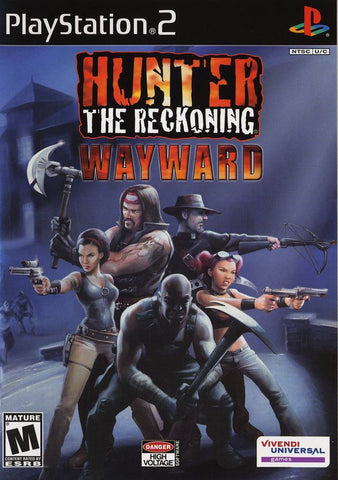 Hunter the Reckoning: Wayward Playstation 2 Game Off the Charts