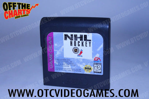 NHL Hockey Game Gear Game Off the Charts