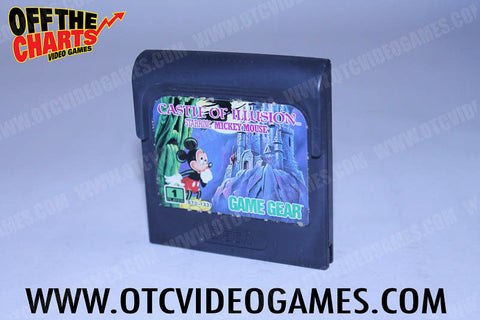 Castle of Illusion Game Gear Game Off the Charts