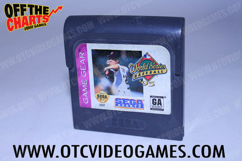 World Series Baseball 95 - Off the Charts Video Games
