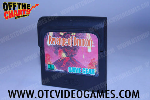 Revenge of Drancon Game Gear Game Off the Charts