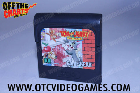 Tom and Jerry the Movie Game Gear Game Off the Charts
