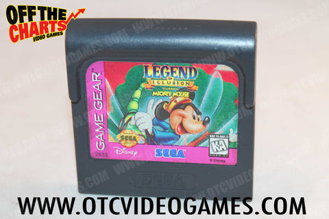 Legend of Illusion Game Gear Game Off the Charts