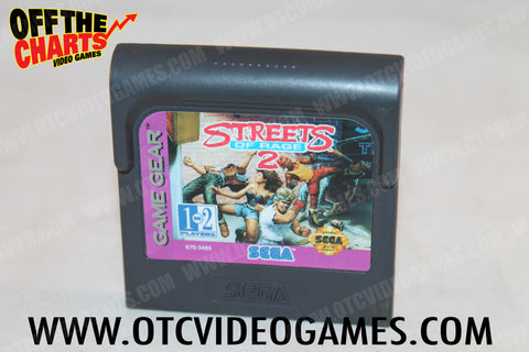 Streets of Rage 2 - Off the Charts Video Games