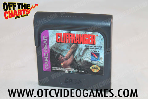 Cliffhanger Game Gear Game Off the Charts