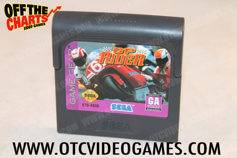 GP Rider Game Gear Game Off the Charts