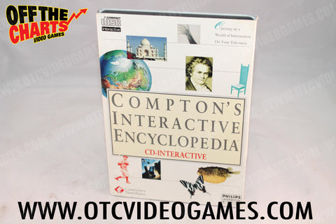 Compton's Interactive Encyclopedia - Off the Charts Video Games