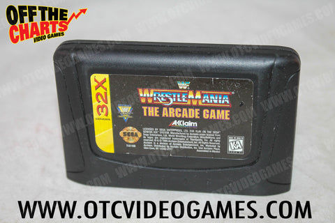 WWF Wrestlemania the Arcade Game - Off the Charts Video Games
