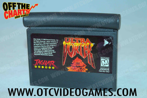 Ultra Vortek Atari Jaguar Game Off the Charts