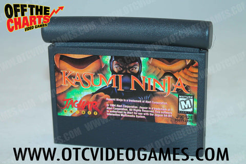 Kasumi Ninja Atari Jaguar Game Off the Charts