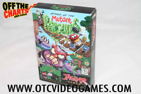 Attack of the Mutant Penguins Box Atari Jaguar Box Off the Charts