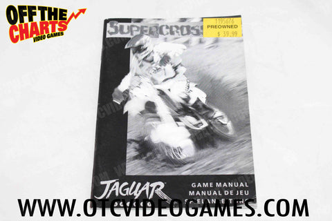 Supercross 3D Manual - Off the Charts Video Games