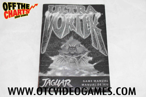 Ultra Vortek Manual - Off the Charts Video Games