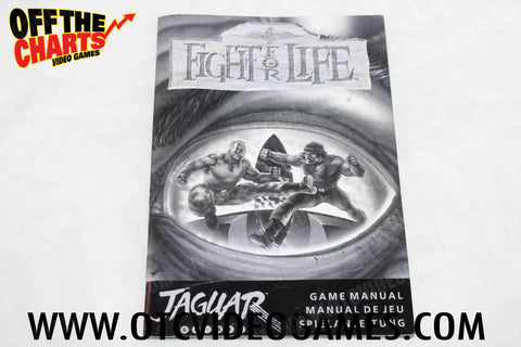 Fight For Life Manual - Off the Charts Video Games