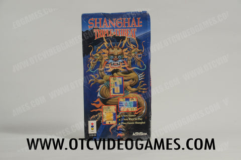 Shanghai: Triple Threat 3DO Game Off the Charts