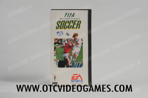 FIFA International Soccer 3DO Game Off the Charts
