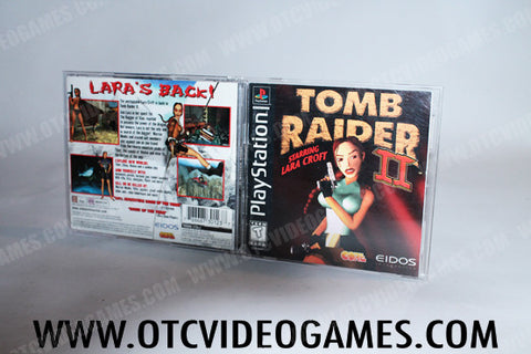 Tomb Raider II Playstation Game Off the Charts