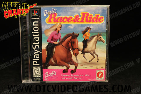 Barbie Race & Ride Playstation Game Off the Charts