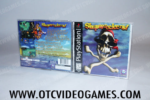 Shipwreckers Playstation Game Off the Charts