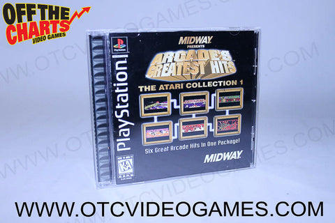Arcade's Greatest Hits The Atari Collection 1 - Off the Charts Video Games