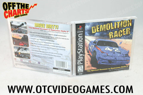 Demolition Racer Playstation Game Off the Charts