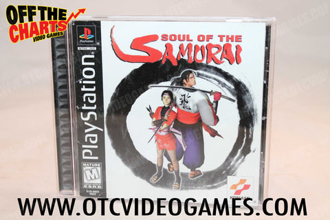 Soul of the Samurai Playstation Game Off the Charts