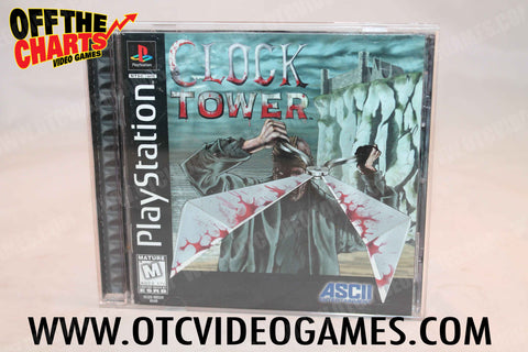 Clock Tower - Off the Charts Video Games