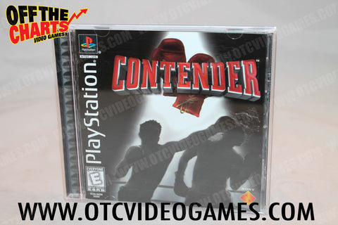 Contender Playstation Game Off the Charts