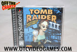 Tomb Raider III Playstation Game Off the Charts